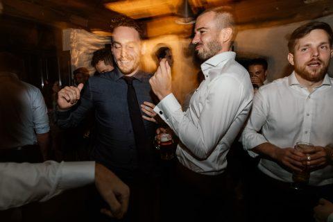 Hochzeitsreportage mit Party
