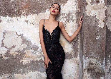 "Nachtschwarze Abendkleid-Kollektion ""Black Carat"""