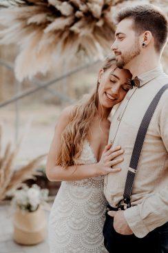 Wild, frei & lässig: So schön kann eine Boho-Hochzeit sein