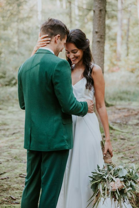 Mystische Elopement-Inspiration in der Natur