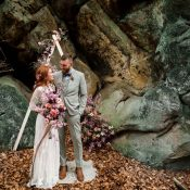 Valentinstag-Elopement in den Dörenther Klippen