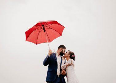 6 Tipps für die Hochzeit, falls es regnet