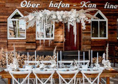 Oberhafenkantine: Urbaner Boho-Hochzeitstrend im grünen Berlin