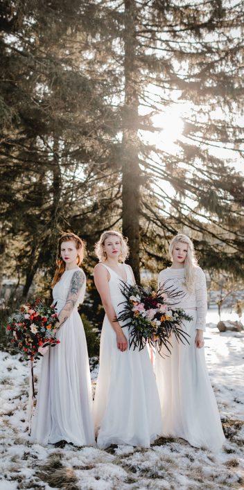 Fair, fairer, elementar - Nachhaltig schöne Brautkleider