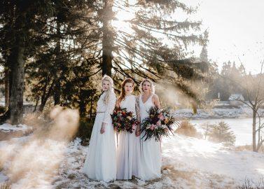 Fair, fairer, elementar – Nachhaltig schöne Brautkleider