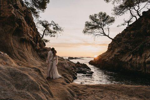 Romantisches After Wedding in Spanien