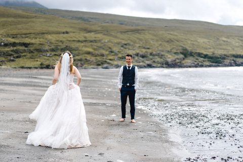 After Wedding Shooting auf der Isle of Skye in Schottland