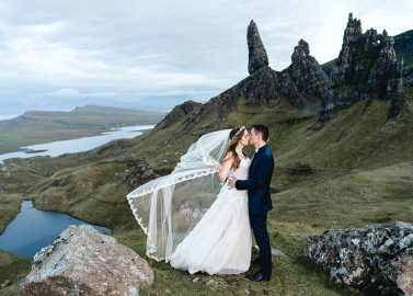 After Wedding Shooting auf der Isle of Skye in Schottland