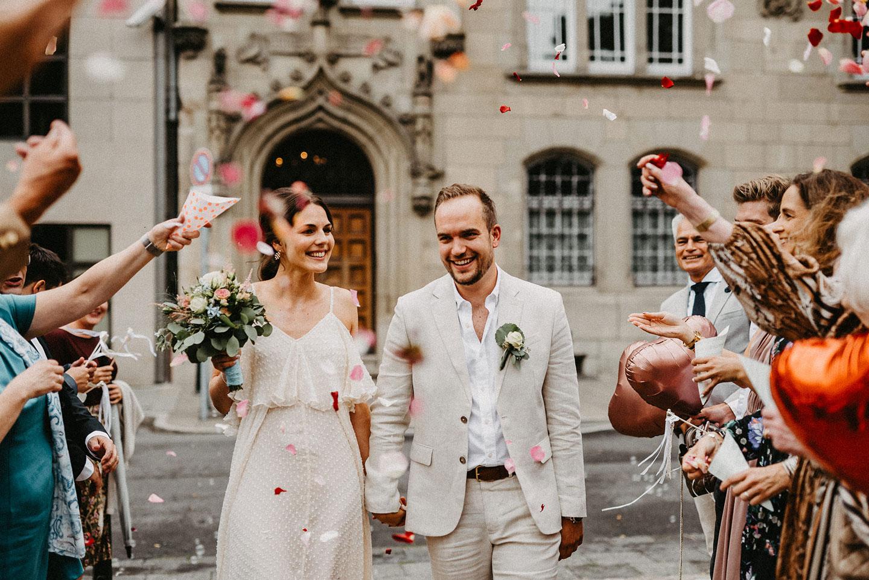 Standesamt Hochzeit: Gartenfest im Familienkreis