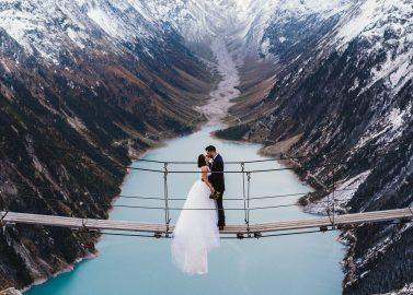 Wenn das Brautkleid erst nach der Hochzeit ankommt...