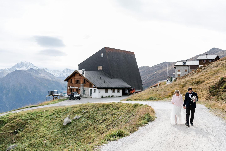 Hotel Belalp: Romantische Berghochzeit im Herbst