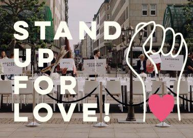 Die Hochzeitsbranche steht still – Stand up for love!