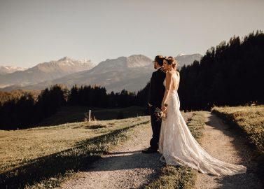 Heiraten in der Schweiz – naturverbundene Val Hochzeit