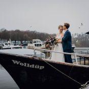 Marina Eldenburg: Boho-Winterhochzeitsidee im Hafen