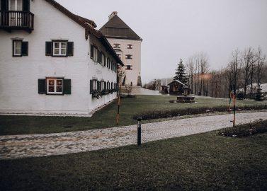 Romantische Winterhochzeit auf Schloss Fuschl