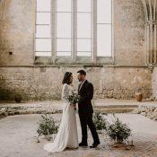 Minimalistisch elegant - Heiraten in der Normandie