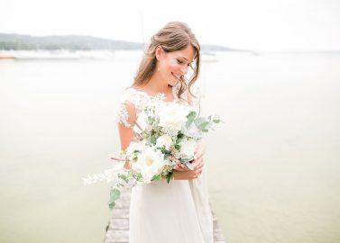 Die Farben einer natürlichen Hochzeit