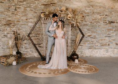 Bohemian Hochzeitseleganz auf Gut Ostenwalde