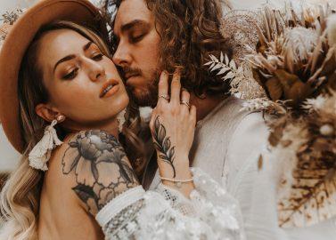 Hochzeitsthema: Trockenblumen und Boho