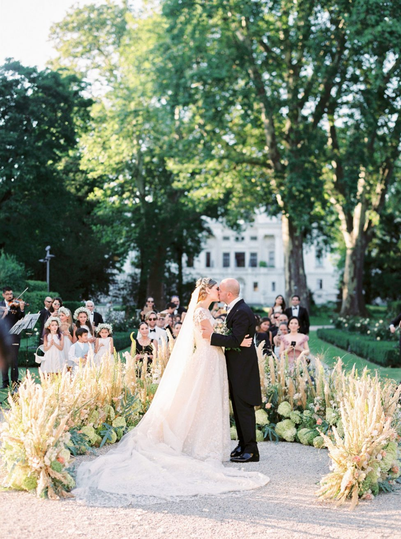 Weltenbummler-Hochzeit im Wiener Garden Palace Liechtenstein
