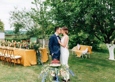 Die Liebe besiegt Corona haushoch - Traumhochzeit im Garten!