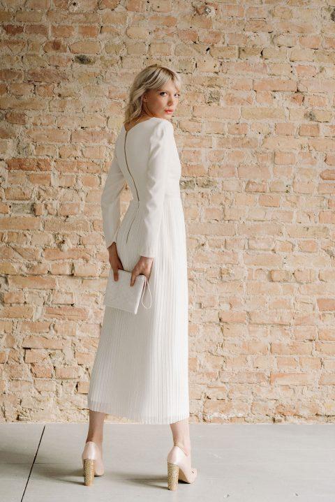 Nachhaltig elegante Brautmode von kisui Berlin