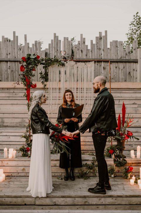 Rockig und urban – Hochzeitinspiration auf der Alten Utting