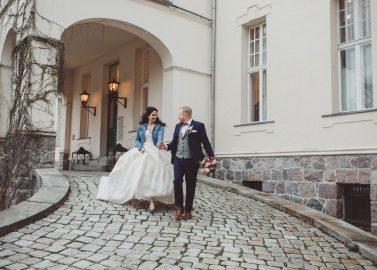 Schloss & Gut Liebenberg: Winterhochzeit im Disney-Stil