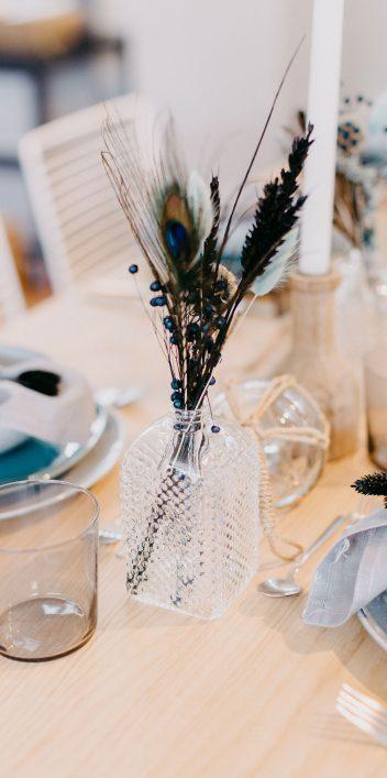 Hochzeitsinspiration: klare Linie, eindrucksvoll besonders