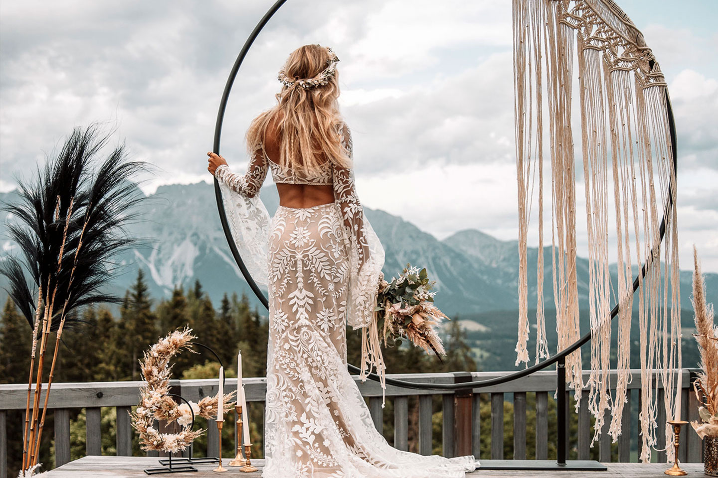 Boho-Weddingdreams in der Almwelt Austria