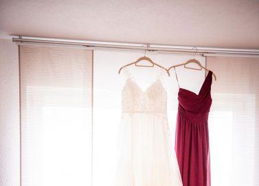 Burgundy-Eleganz in der Linus Eventhalle
