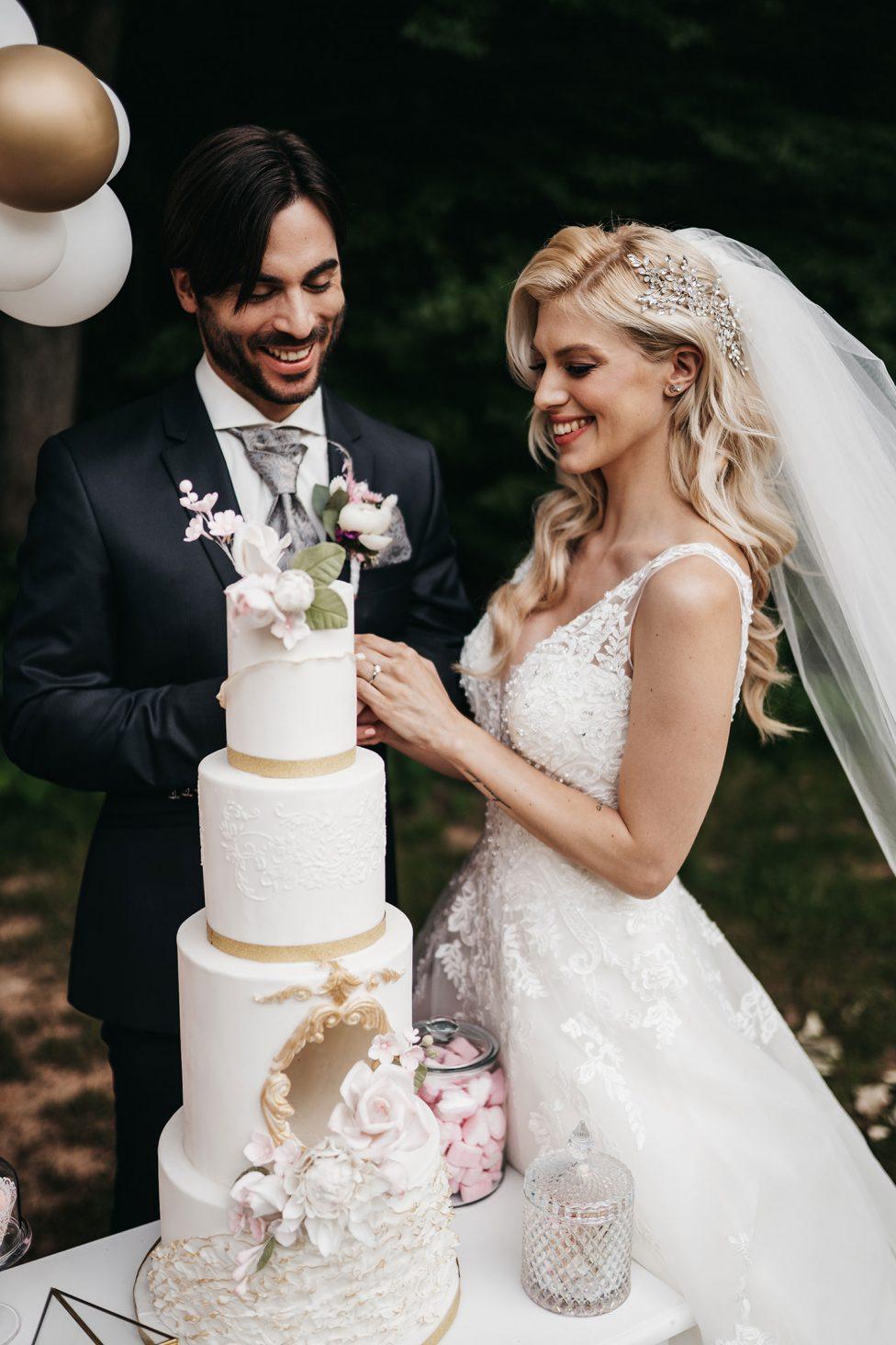 Hoher Darsberg: Glamouröse Prinzessinnen Hochzeitsinspiration