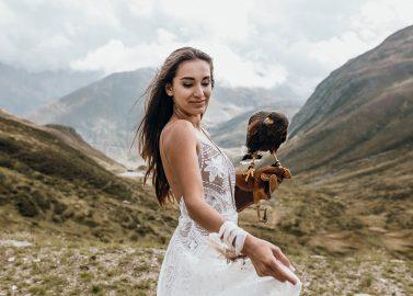 Elopement Style in den Schweizer Alpen