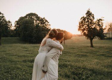 DIY-Boho-Hochzeit im kleinen Kreis