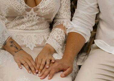 Son Berga: Finca-Hochzeitsinspiration im Boho-Glamour