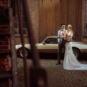 Hochzeitskonzept mit viel Industrial Charme