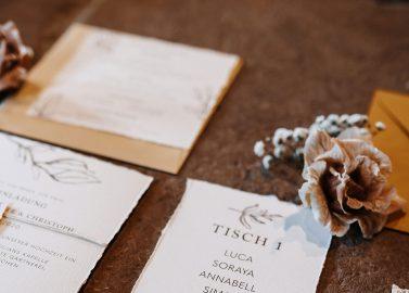 Blumige Hochzeitsinspiration im Boho-Chic