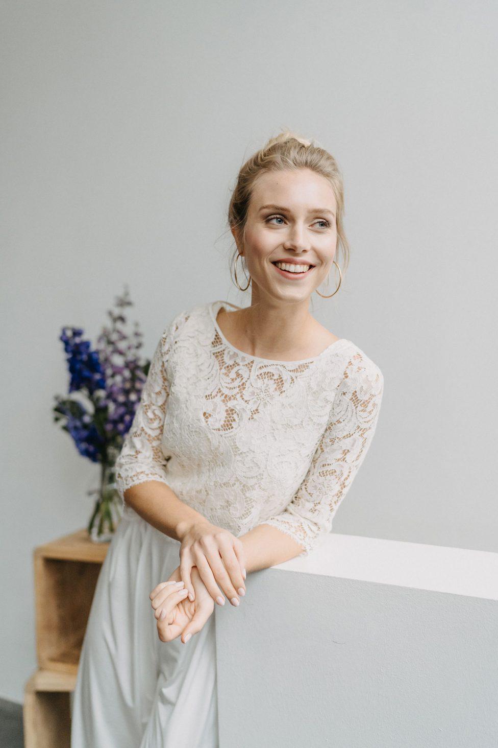 Brautmode 2021: Metamorphose von Claudia Heller
