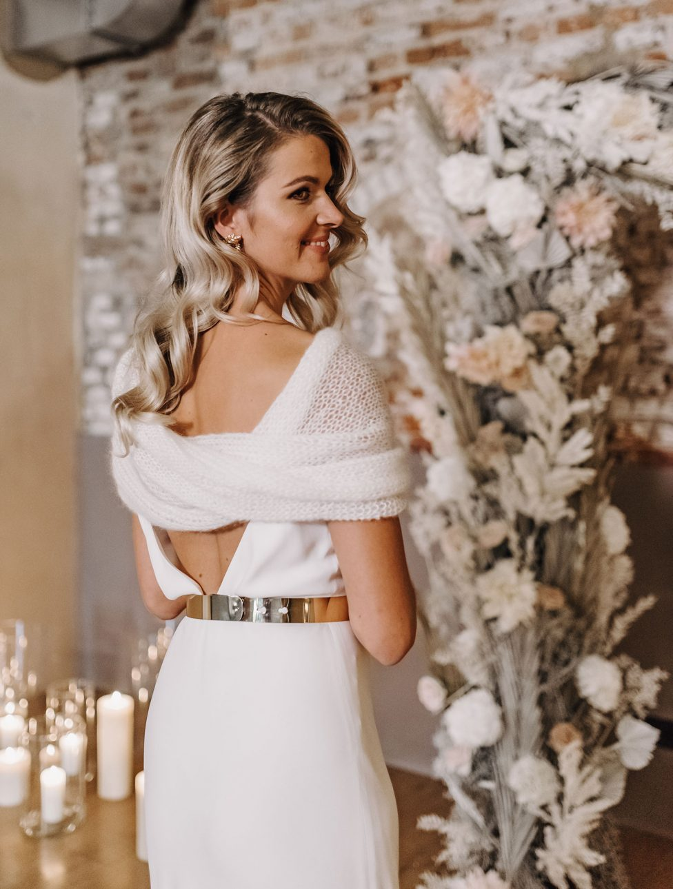 Weiße Hochzeitseleganz im Andreashaus