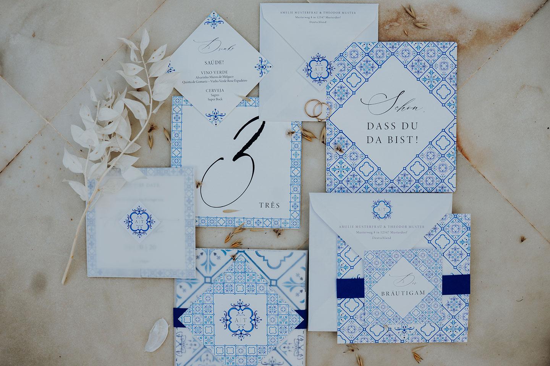 Destination Wedding Hochzeitskonzept in Portugal