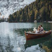 Elopement Inspiration am Lago Di Braies