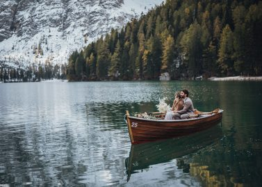 Elopement Inspiration am Lago Di Braies