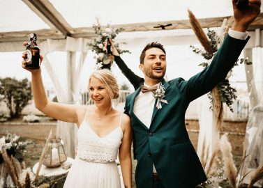 Mit Blick aufs Meer – Boho-Hochzeit in Travemünde