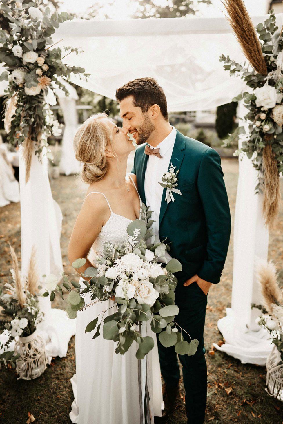 Mit Blick aufs Meer - Boho-Hochzeit in Travemünde