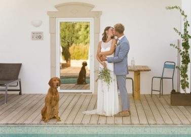 Destination-Wedding in der A Quinta Eventos, Portugal