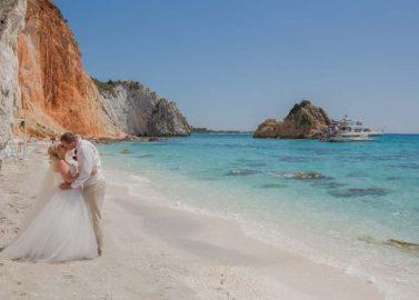 Destination Wedding auf Kefalonia, Griechenland