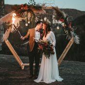Nachhaltige Hochzeitsinspiration in Rustic Orange