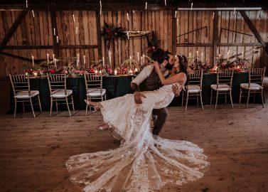 Magische Hochzeitsnacht in der Eventscheune Wallenburg