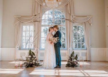 Sinnliche Romantikhochzeit im Königlichen Kurhaus
