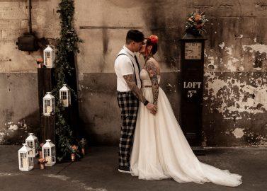 Hochzeitsstil – edgy, urban und industriell